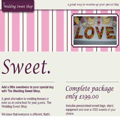 The Wedding Sweet Shop